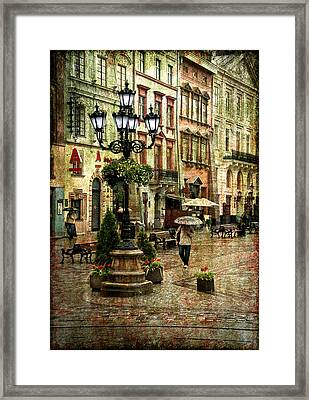 The Fall Of Spring Framed Print by Evelina Kremsdorf