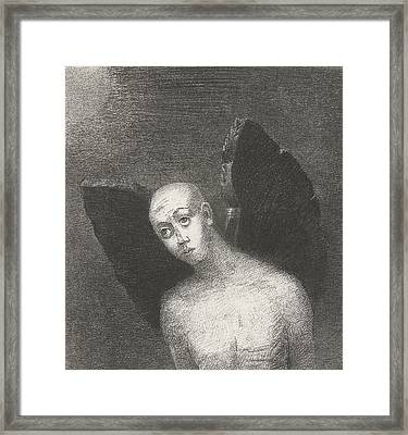 The Fallen Angel Framed Print