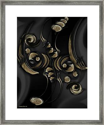 The Falling Sentiment Framed Print