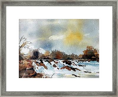 The Falls At Lismore, Waterford Framed Print