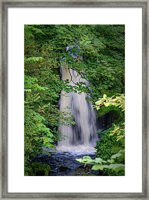 The Falls At Patie's Mill Framed Print