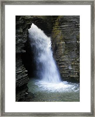 The Falls Framed Print by Elizabeth Hoskinson