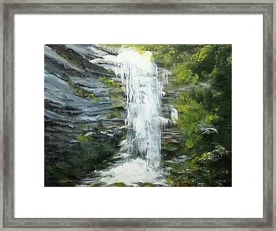 The Falls Framed Print