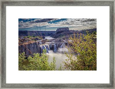 The Falls Framed Print