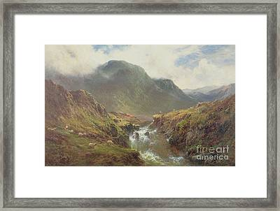The Falls Of Foyers Framed Print