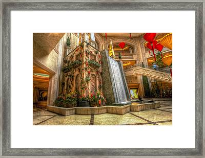 The Falls Framed Print by Stephen Campbell