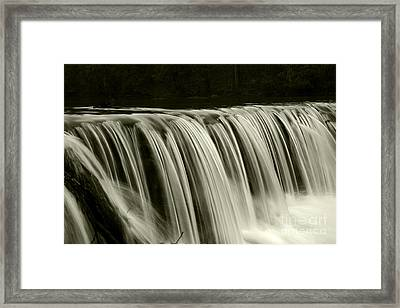 The Falls Framed Print by Timothy Johnson