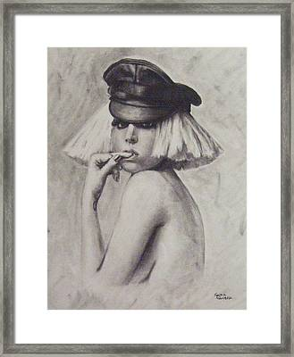 The Fame Monster Framed Print by Cynthia Campbell