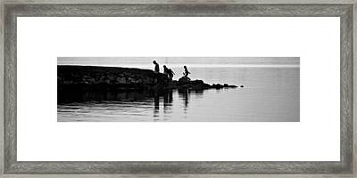 The Family That Plays Together Framed Print by John Glass