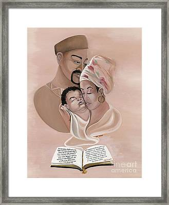 The Family Framed Print by Toni  Thorne