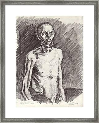The Famished Prisoner Framed Print by John Keaton