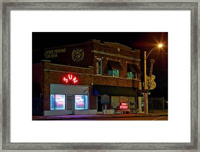 The Famous Sun Records Studio Framed Print