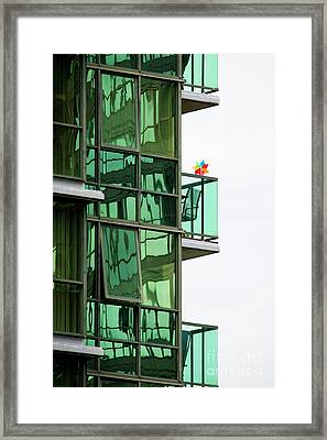 Framed Print featuring the photograph The Windmill by Chris Dutton