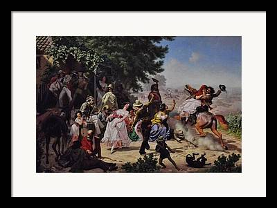 Charles Nahl Framed Prints