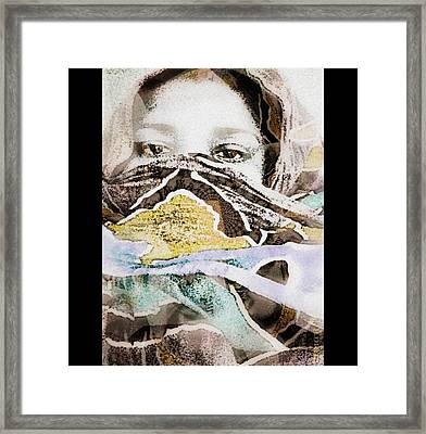 The Fania People - Chad Central Africa Framed Print by Fania Simon