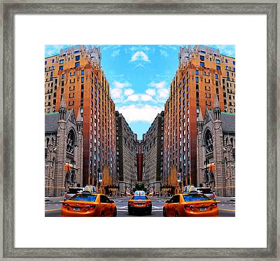 Framed Print featuring the photograph The Fantacity by Matt Harang