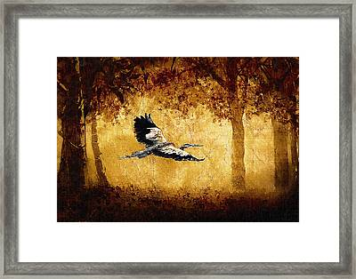 The Fantasy Forest Framed Print by Lynn Andrews
