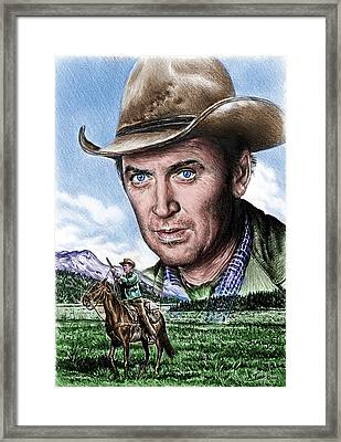 The Far Country Colour Edit Framed Print