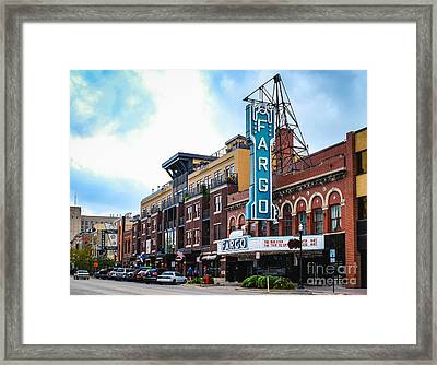 The Fargo Theater Framed Print