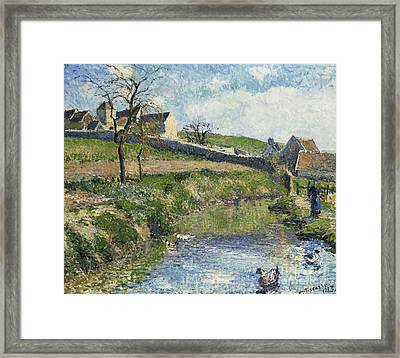 The Farm At Osny Framed Print