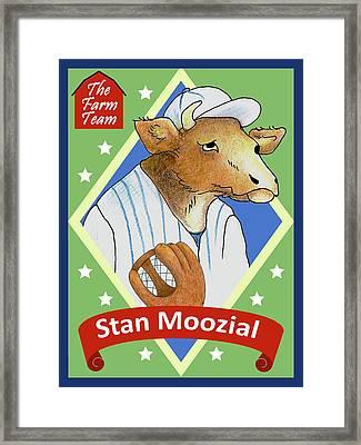 The Farm Team - Stan Moozial Framed Print