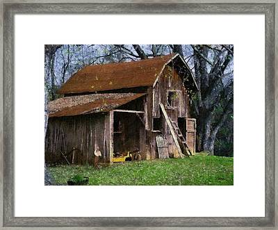 The Farm Framed Print by Teresa Mucha