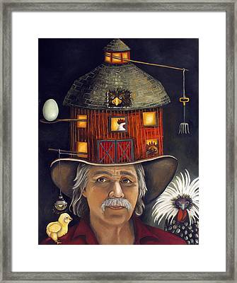 The Farmer Framed Print by Leah Saulnier The Painting Maniac