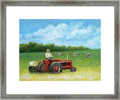 The Farmer Framed Print