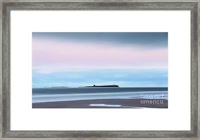 The Farne Islands From Bamburgh Framed Print