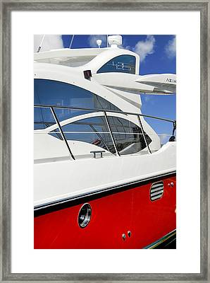The Fast Lane Framed Print by Robert Lacy