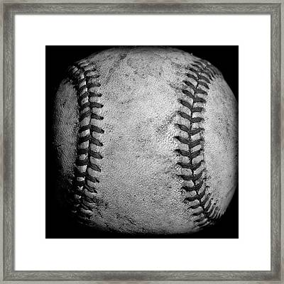 The Fastball Framed Print by David Patterson