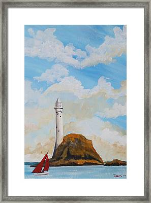 The Fastnet 1 Framed Print