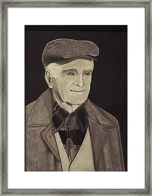 The Father-in-law Framed Print by Ron Sylvia