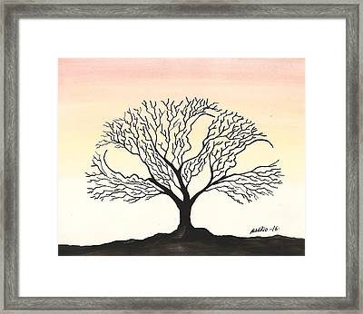 The Father The Son And The Holy Spirit Framed Print by Edwin Alverio