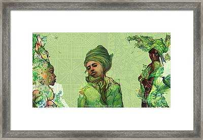 The Fauns Framed Print