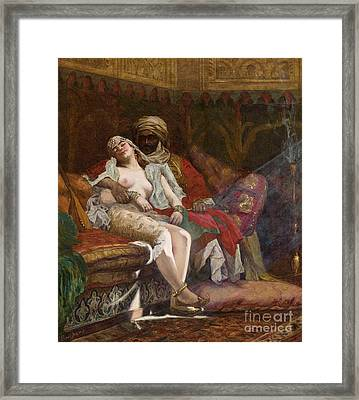 The Favorite Framed Print by Paul Louis Bouchard