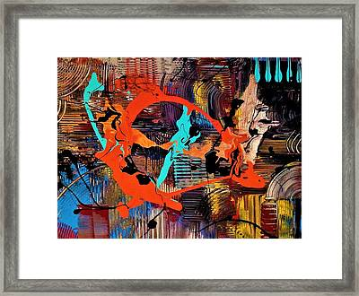 The Feathery Blur Of Before Framed Print