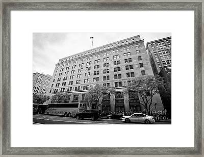 The Federal Election Commission Fec Building Washington Dc Usa Framed Print