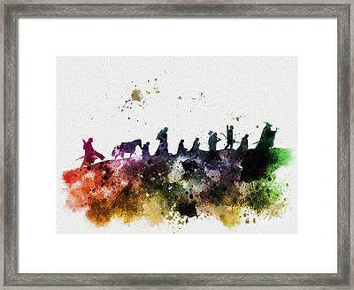 The Fellowship Framed Print by Rebecca Jenkins