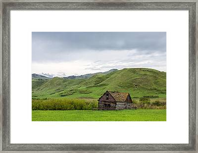 The Felton House Framed Print by Todd Klassy