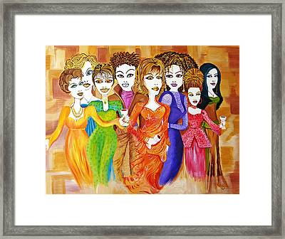 The Female Factor Framed Print by Kenji Lauren Tanner