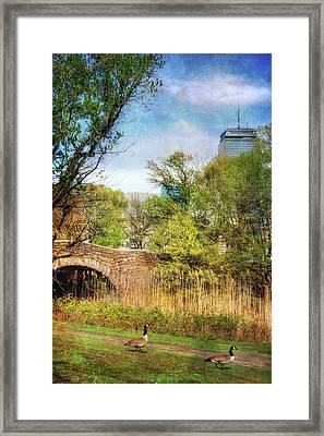 The Fens - Boston Framed Print