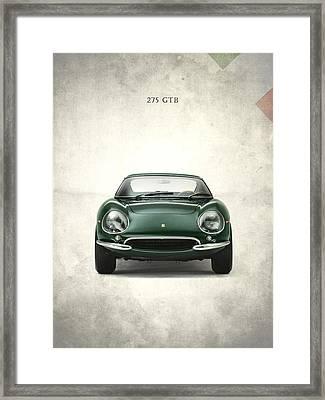The Ferrari 275 Gtb Framed Print by Mark Rogan