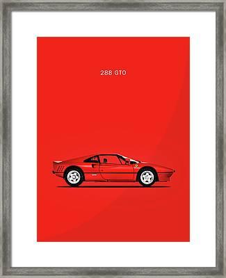 The Ferrari 288 Gto Framed Print