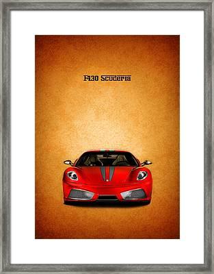 The Ferrari F430 Framed Print
