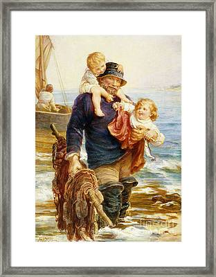 The Ferry Framed Print