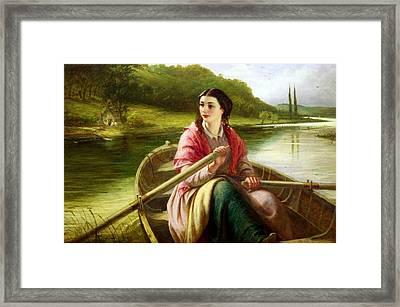 The Ferryman Daughter Framed Print by MotionAge Designs