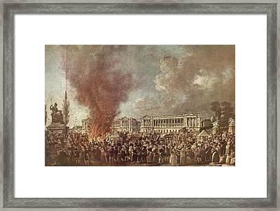 The Festival Of Regeneration Or Unity Framed Print