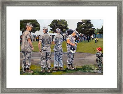 The Few The Proud Framed Print by Deb Putnam