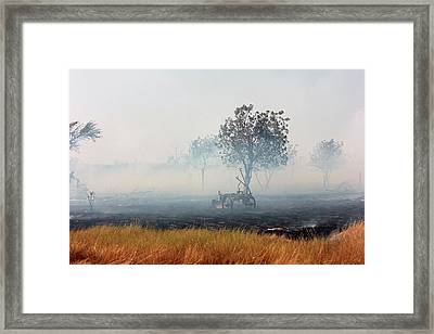 The Field Plow Framed Print